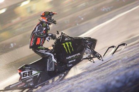 Monster Energy/Arctic Cat racer Tucker Hibbert