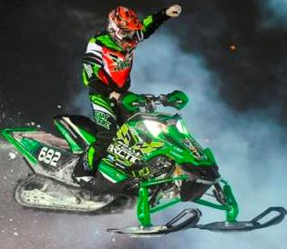 Cody Thomsen, Arctic Cat Factory, won again. Photo by Wayne Davis