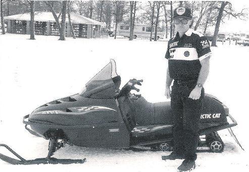 1995 Arctic Cat ZRT 600, with Donn Eide