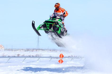D.J. Ekre, Arctic Cat cross-country ace