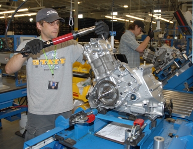 Arctic Cat Engine production in St. Cloud
