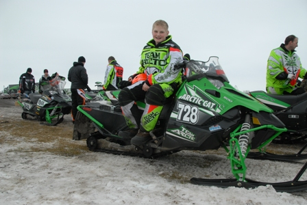 Arctic Cat's Zach Thoma of Clearbrook, Minn.