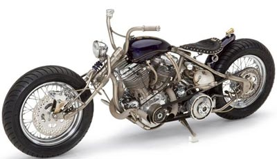 Custom motorcycle (not an Arctic Cat)