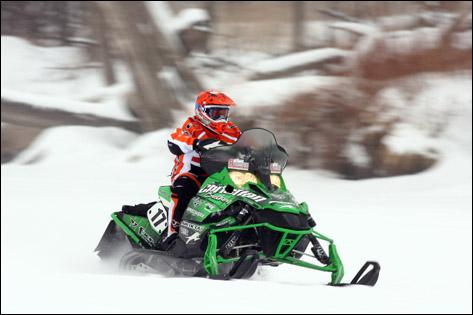 Christian Bros. Racing/Arctic Cat's Chad Kyllo