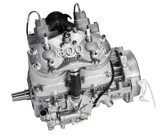 The Arctic Cat 800 H.O. engine