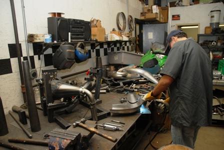 Pipe-fixture welding at Speedwerx