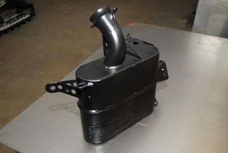 Speedwerx lightweight muffler for Z1 Turbos