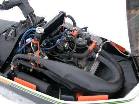 Under the hood of the sweet Arctic Cat el tigre