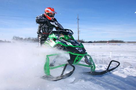 Arctic Cat/Brother's Motorsport's Jeremy Tulenchick