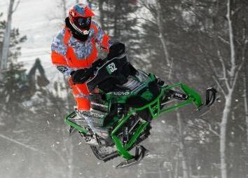Johan Lidman raced the Sportech/Arctic Cat to 4th in Open